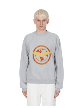Flight Logo Crewenck Sweatshirt by Phipps