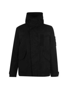 Reflective Weave Ripstop Tc Parka Jacket by Stone Island