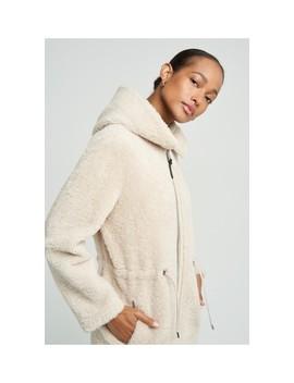 Akela Shearling Coat With Hood by Mackage