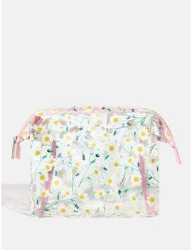 Daisy Chain Wash Bag by Skinnydip