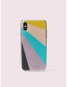 Radiating Glitter Iphone Xs Case by Kate Spade