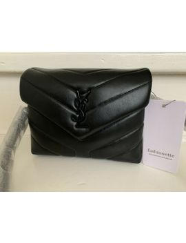 Original Saint Laurent Tasche Lou Lou Toy All Black Schwarz Neu by Ebay Seller