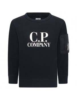 Boys Navy Blue Sweater by C.P. Company
