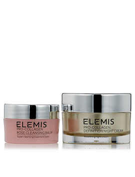 "<Div Class=""Pd Short Desc Label"">Make Your Selection:</Div> Elemis Pro Collagen Day Cream 30ml & Rose Cleansing Balm 20g by Qvc"