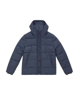 Navy Midweight Hooded Puffer Jacket by Burton