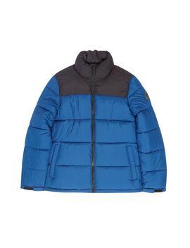 Blue Colourblock Puffer Jacket by Burton