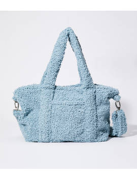 Cozy Up Teddy 12 Hour Bag by Lou & Grey