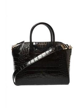 Black Antigona Shoulder Bag by Givenchy