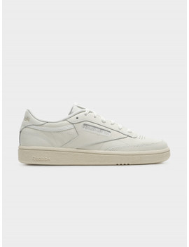 Womens Club C 85 Sneakers In Chalk & Weathered White by Glue Store