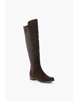 Brown Suede Waterproof Velma Boots by Blondo