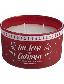 Wilko Red 3 Wick Candle Wilko Red 3 Wick Candle by Wilko