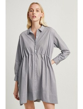 Smythson Stripe Shirt Dress by French Connection