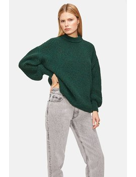 Jolie Sweater   Forest Green by Anine Bing