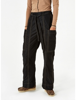 Recycled Trousers   Black by Ganni