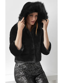 Sage Faux Fur Jacket by Bcbgmaxazria
