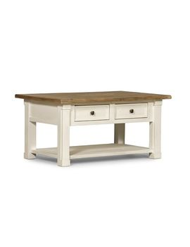 Hart Reclaimed Wood Rectangular Coffee Table by Pottery Barn