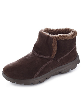 Skechers On The Go Chugga Suede Ankle Boot With Memory Foam by Qvc