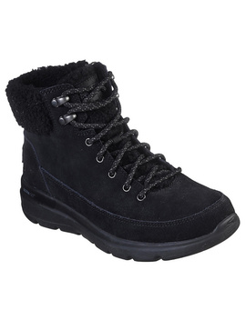Skechers Glacial Ultra Suede Lace Up Boot by Qvc