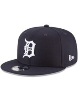 Detroit Tigers New Era Team Color 9 Fifty Snapback Hat   Navy by New Era