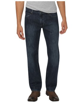 Dickies X Series Relaxed Fit Straight Leg 5 Pocket Denim Jeans by Dickies