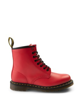 Dr. Martens 1460 8 Eye Color Pop Boot   Bright Red by Dr. Martens