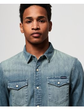 Resurrection Long Sleeve Shirt by Superdry