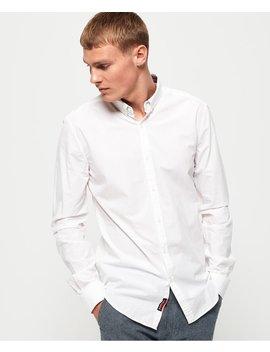 International Poplin Long Sleeve Shirt by Superdry