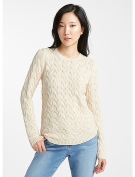 Textured Knit Sweater by Contemporaine  Edited Modern Fashion
