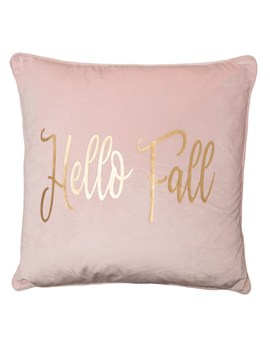 "Cynthia Rowley Hello Fall Velvet Throw Pillow   20x20"", Feather Fill by Cynthia Rowley"