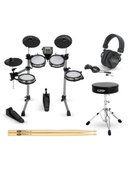Sd350 Complete Electronic Drum Set With Mesh Pads by Simmons