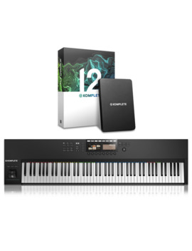 Komplete Kontrol S88 Mk2 With Komplete 12 by Native Instruments