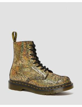 1460 Pascal Iridescent Crackle Boots by Dr. Martens