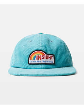 Rainbow Patch Cap Teal by Au