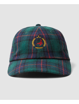 Crest Plaid Cap Assorted by Au