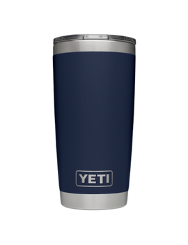 Yeti Rambler Tumbler With Mag Slider Navy by Well