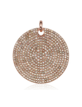 Ava Large Disc Pendant Charm by Monica Vinader