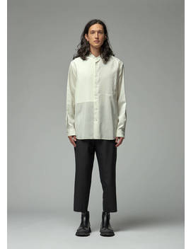 Paneled Shirt by Jil Sander
