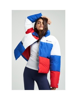 Colorblock Puff Jacket by Champion Europe Reverse Weave