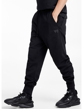 Ribbed Ankle Jogger Pants by Y 3 Adidas