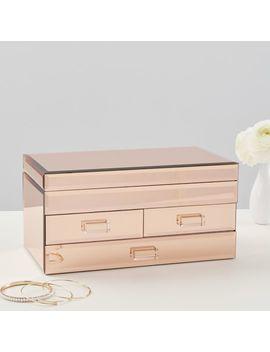 Mirrored Jewelry Box by P Bteen