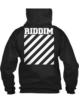 Riddim Off White Hoodie by Teespring