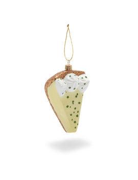 Key Lime Pie Glass Ornament by Sur La Table