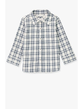 Offset Check Shirt by Country Road