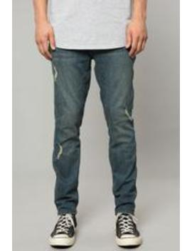 Venice Indigo Denim Slim Tapered Pant by Elwood Clothing
