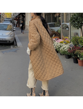 Nokit Double Layers Quilted Long Coat by Jessica Buurman