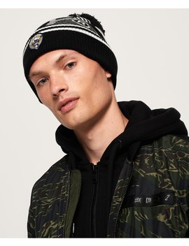 Superdry Mono Logo Beanie by Superdry