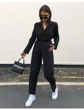 Misca Trouser In Black By Motel by Motel