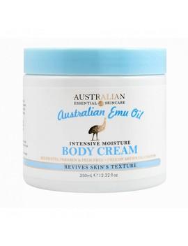 Australian Emu Oil Body Cream 350 M L by Australian Essential Skincare