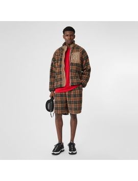 Vintage Check Fleece Jacket by Burberry