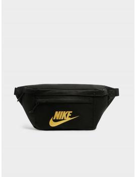 Nike Bumbag In Black & Orange by Nike